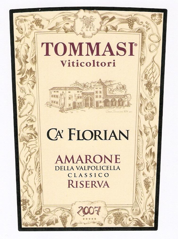 Etichetta Ca' Florian