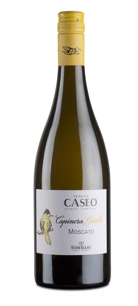 Etichetta vino Moscato Capinera Gialla